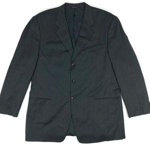 Armani Collezioni Gray Suit Jacket Blazer Size 46L